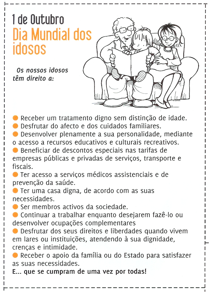 Dia do Idoso | Portal Amigo do Idoso