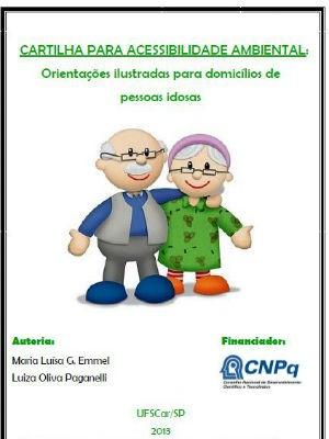 Cartilha da UFSCar dá dicas para adaptar a casa e evitar a queda de idosos (Foto: Reprodução)