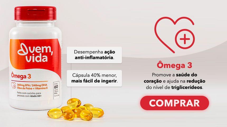 Omega 3 Vem Vida Portal Amigo do Idoso